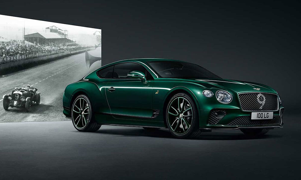 Mulliner limited edition 2019 Bentley Continental GT Number 9 Edition