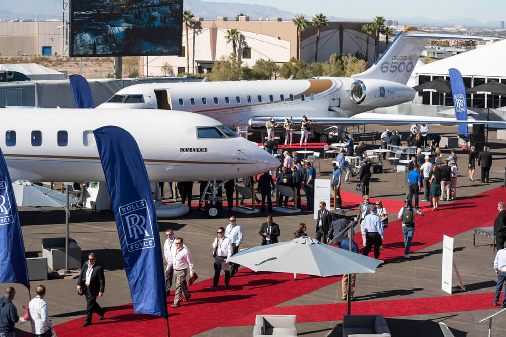 NBAA Business Aviation Convention Exhibition Las Vegas