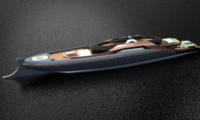 ODYSSEUS megayacht design by Souhaib Rouissi