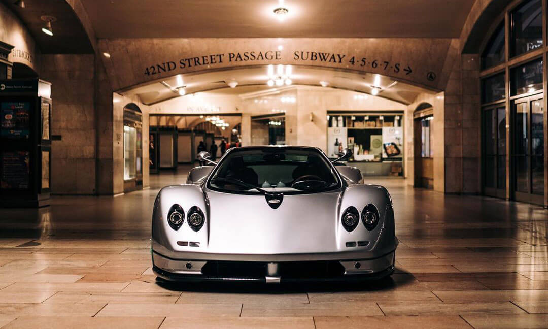 Pagani Zonda in Grand-Central Terminal New York