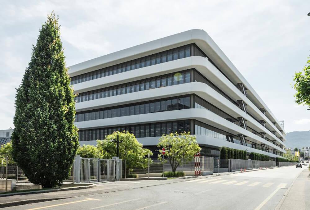Patek Philippe Headquarters in Plan-les-Ouates, Geneva. Credit: Patek Philippe