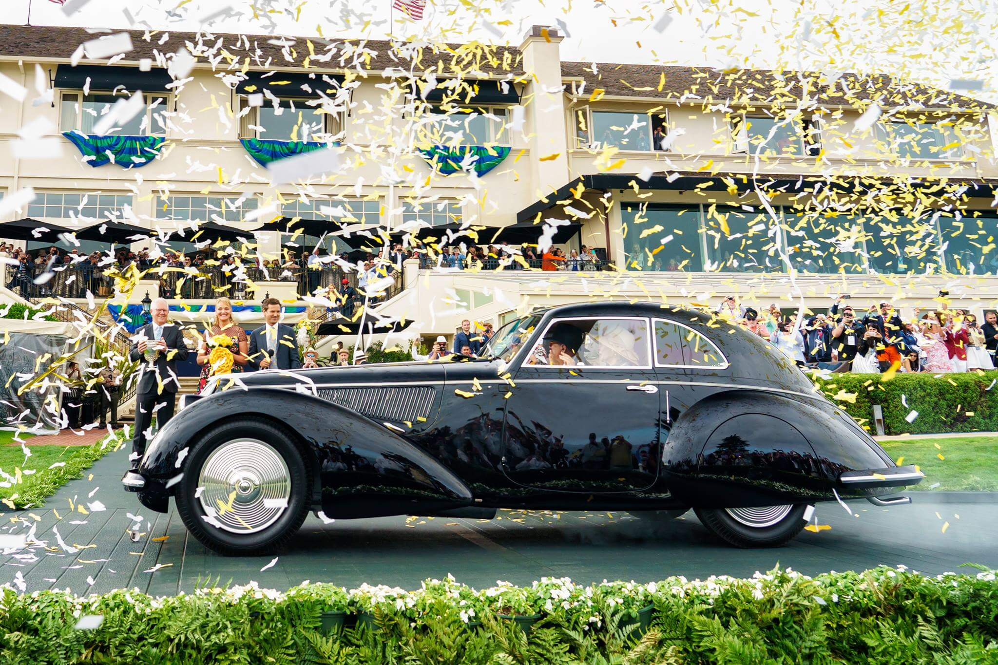 Pebble Beach Concours d'Elegance best of show