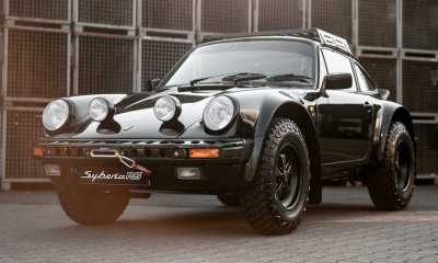 Porsche 911 Syberia RS Kai Burkhard Industries rally car