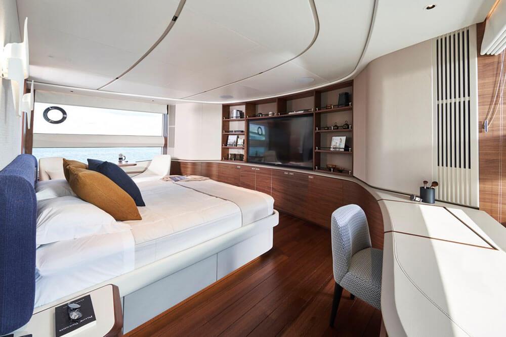 Princess Yachts X95 Interior Master Stateroom