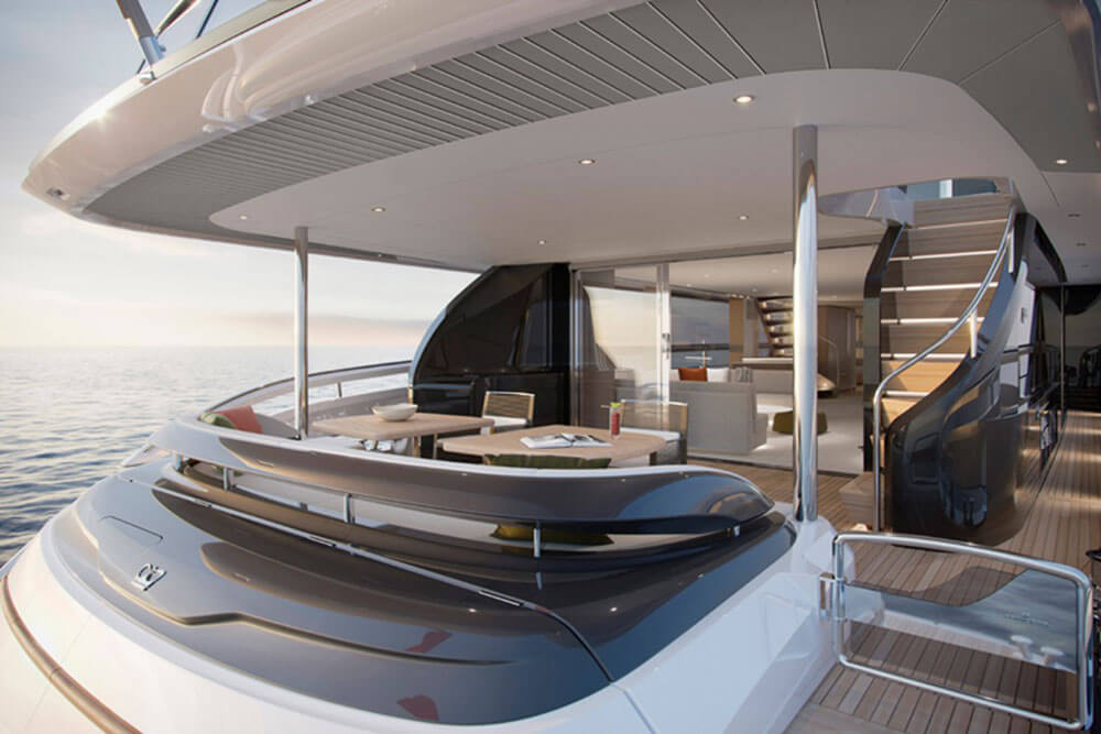 Princess Yachts X95 Cockpit