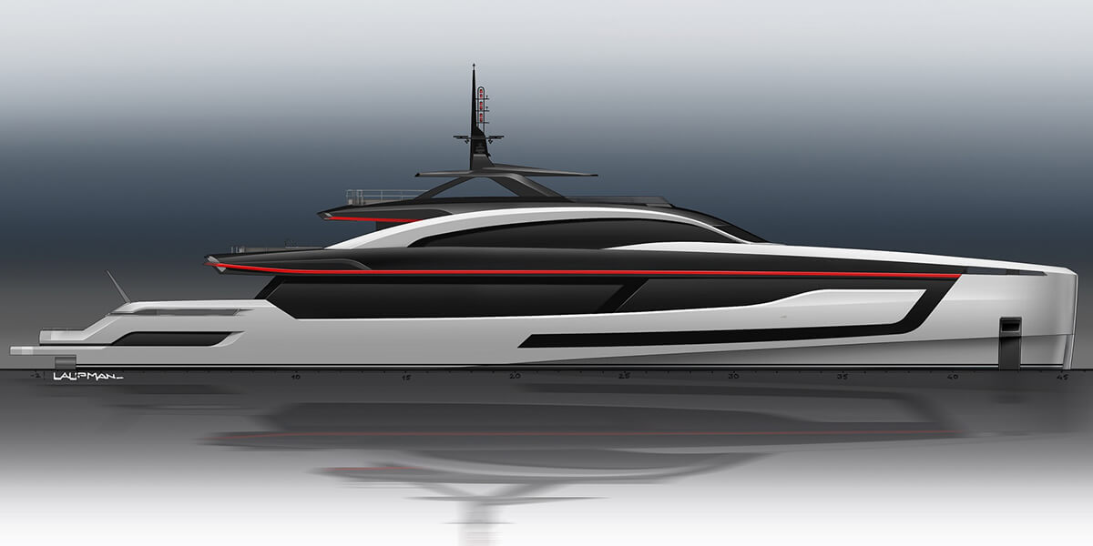 Project Skyfall by Heesen Yachts
