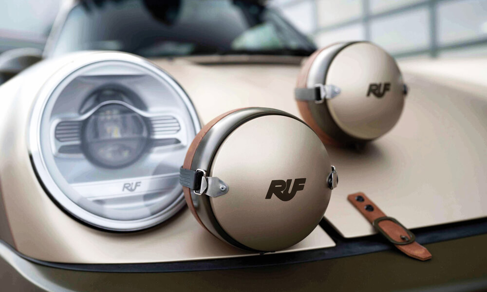 RUF Rodeo Concept Car headlights detail