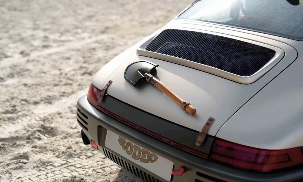 RUF Rodeo Concept Car hood digging spade