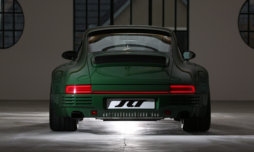 RUF SCR green paint rear view tailights