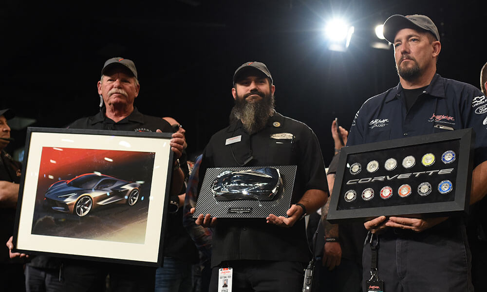Rick Hendrick also obtains artwork and memorabilia with the winning bid