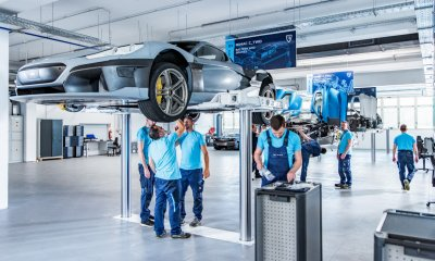 Rimac Automobili C_Two Electric Hypercar Prototype Assembly Production Line