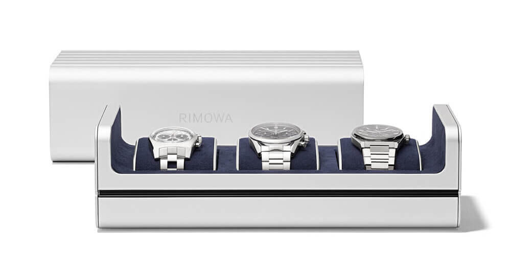 Limited edition RIMOWA Watch Case available for pre-order. Credit: RIMOWA