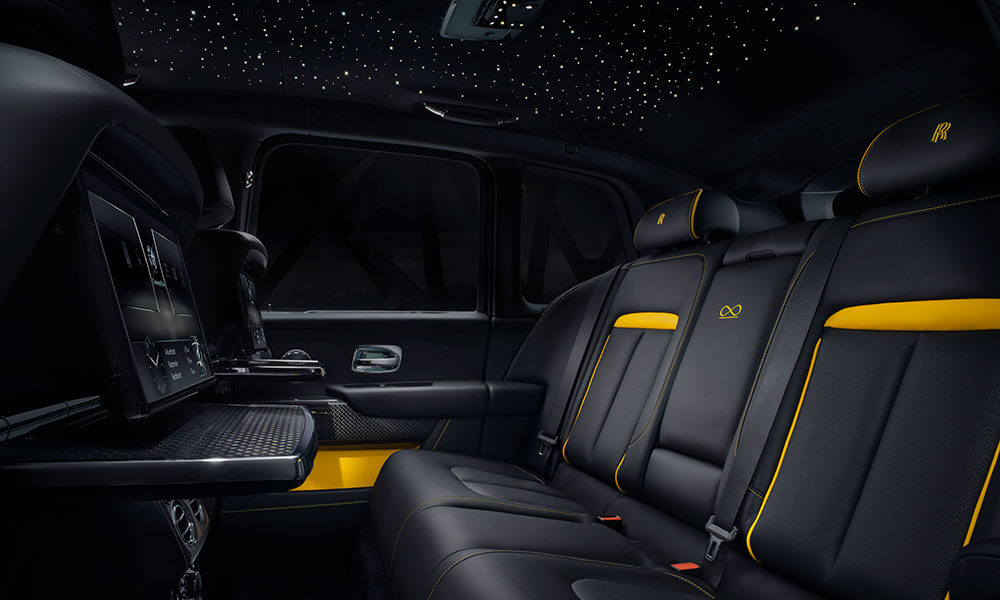 Rolls Royce Black Badge Cullinan Starlight Headliner