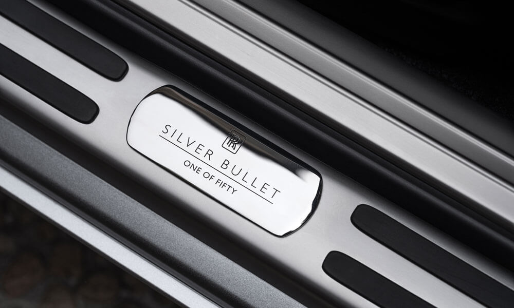Rolls-Royce Dawn Silver Bullet Collection Cars Name Plate