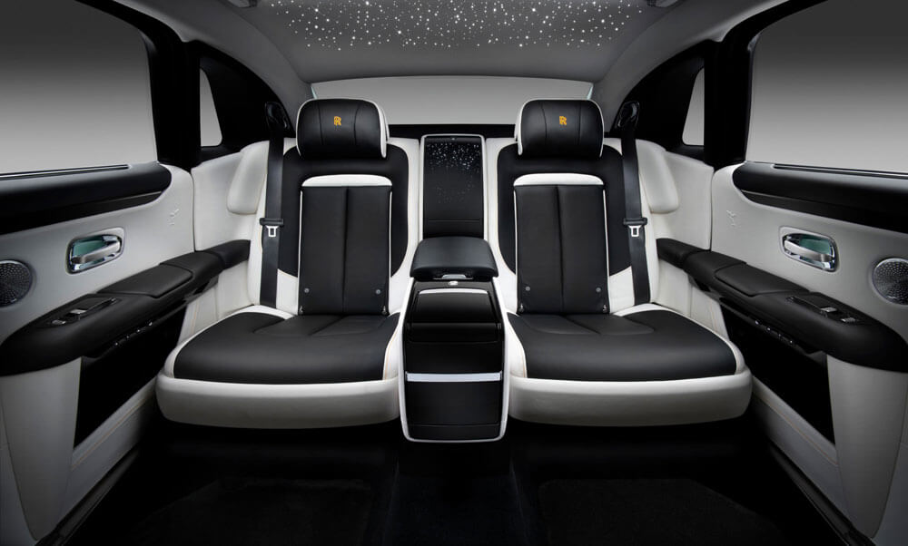 Rolls-Royce Ghost Extended Interior Rear Seats