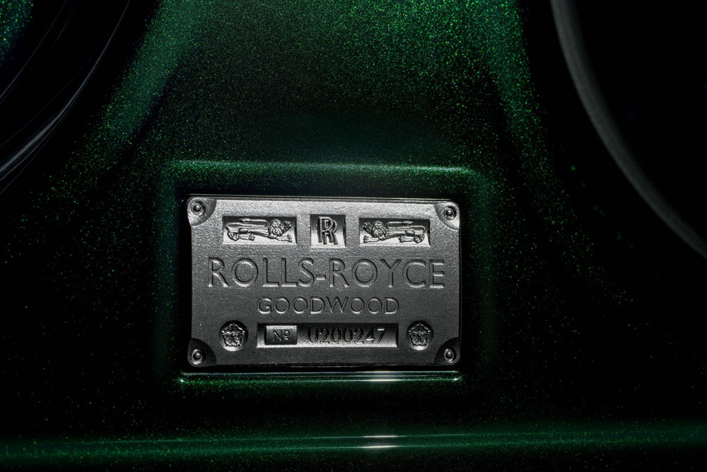 Rolls-Royce Ghost Extended Coach Plaque