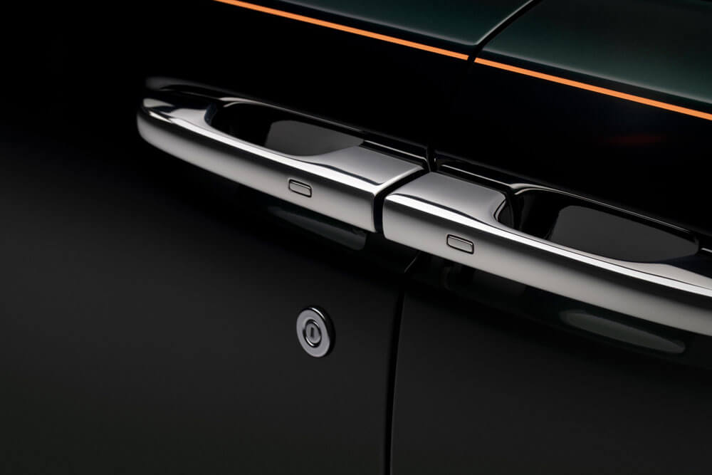 Rolls-Royce Ghost Extended Embroided Door Handle
