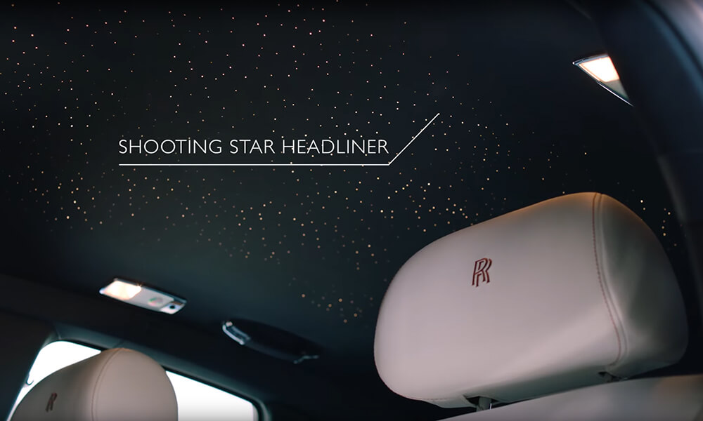 Rolls Royce Ghost Zenith Collection Shooting Star Headliner
