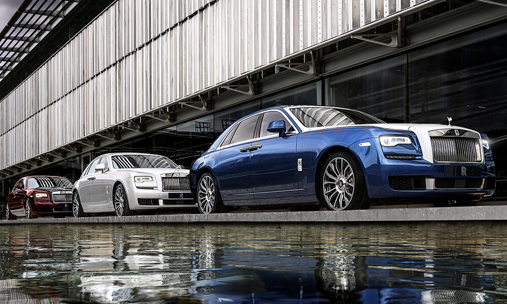 Rolls Royce Ghost Zenith Collection Three Colours