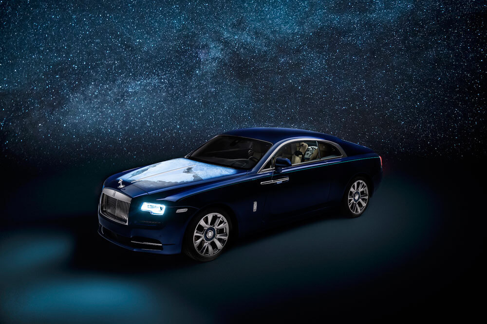"The Rolls-Royce Wraith ""Inspired By Earth"". Credit: Rolls-Royce Motor Cars"