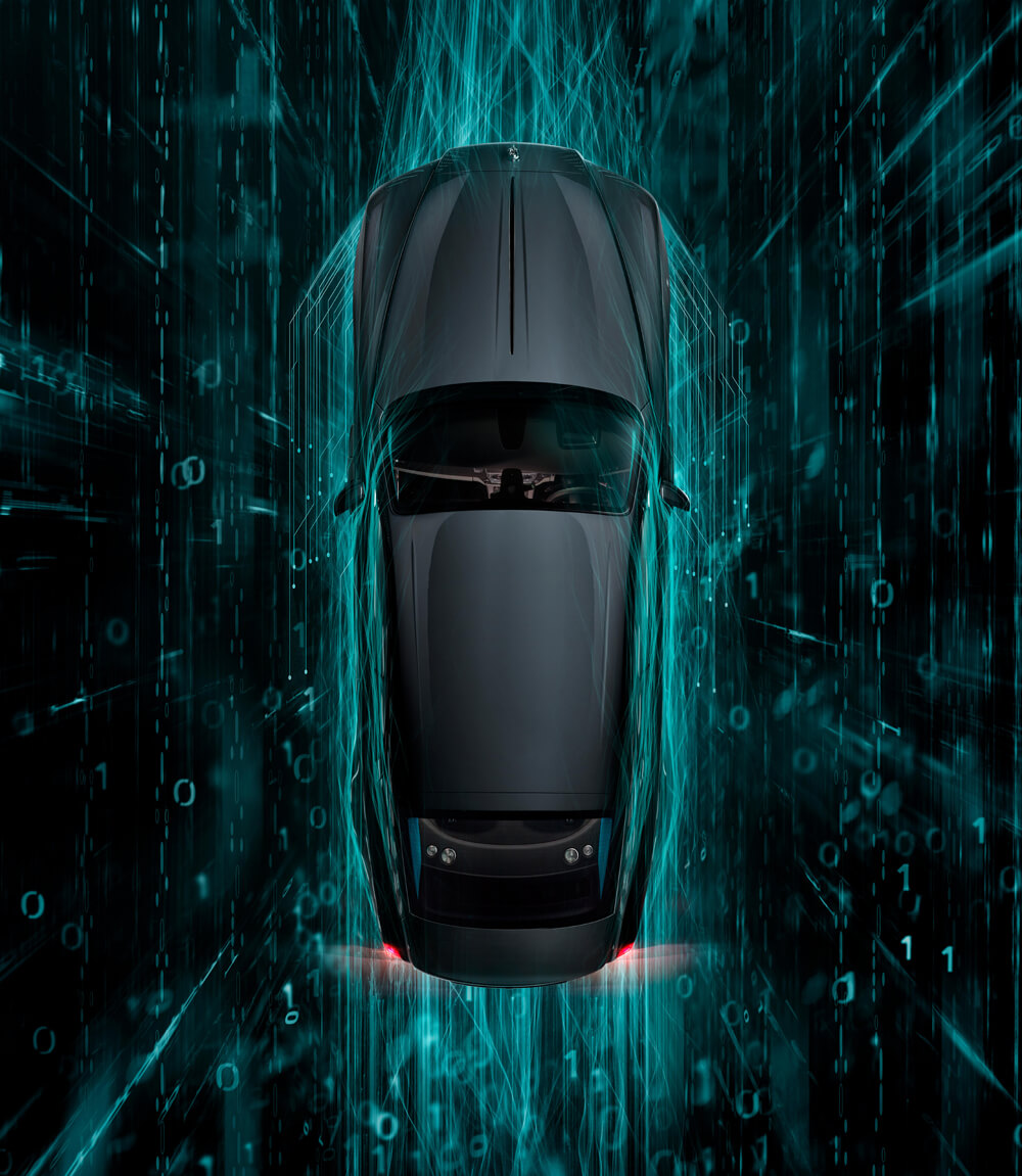 Rolls-Royce Wraith Kryptos Collection Aerial View