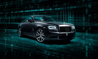 Rolls-Royce Wraith Kryptos Collection Front Side View