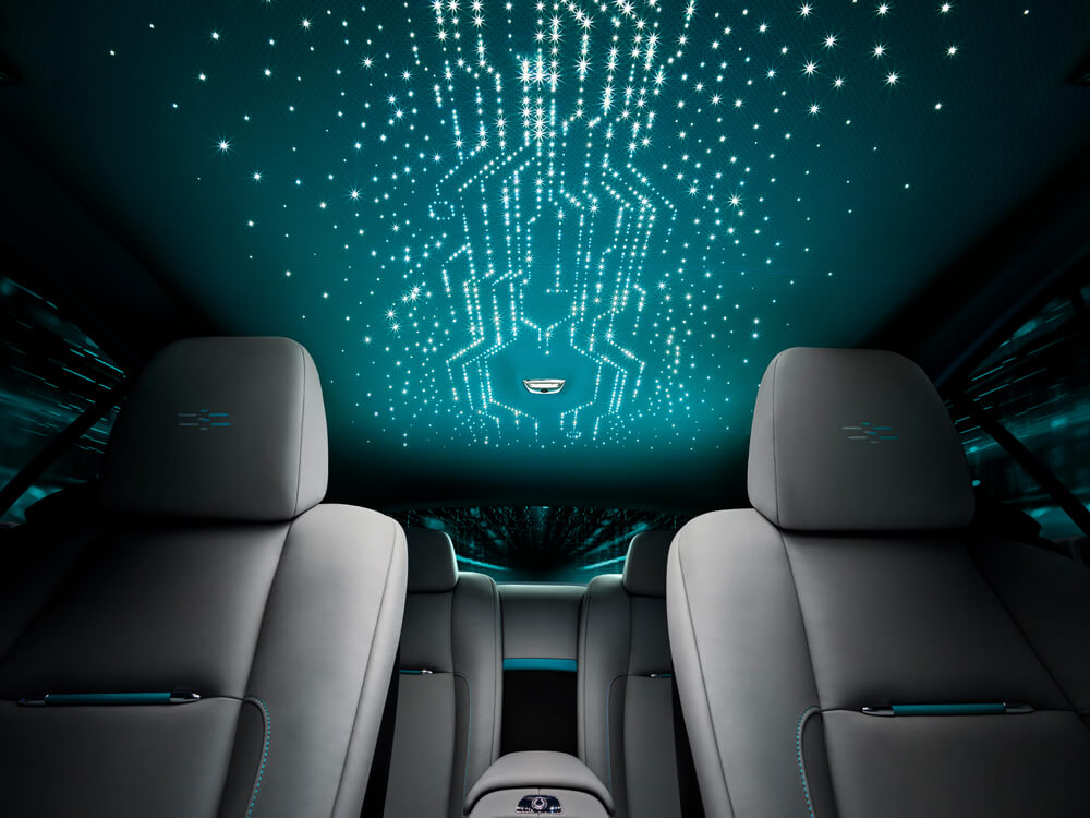 Rolls-Royce Wraith Kryptos Collection Starlight Headliner