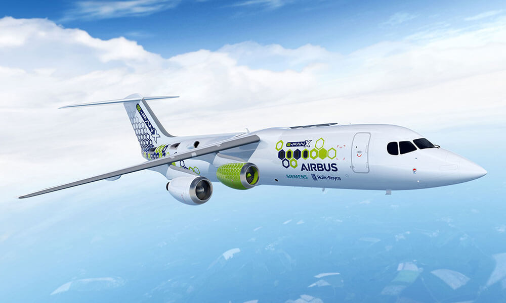 Rolls-Royce collaboration with the E-Fan X demonstrator aircraft