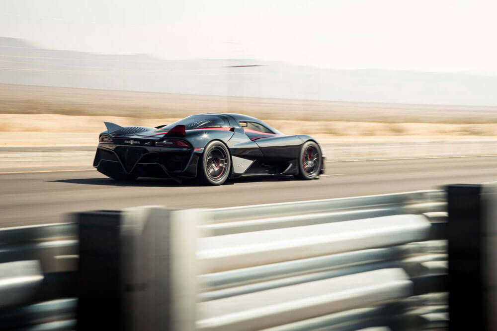 SSC Tuatara Fastest Hypercar Record Attempt Driving Side