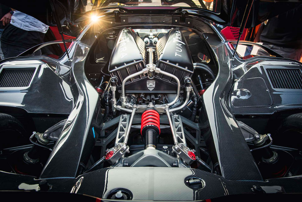 SSC Tuatara Fastest Hypercar Record Attempt Engine