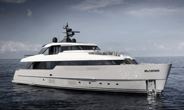 Sanlorenzo SD96 launched at Cannes Yachting Festival