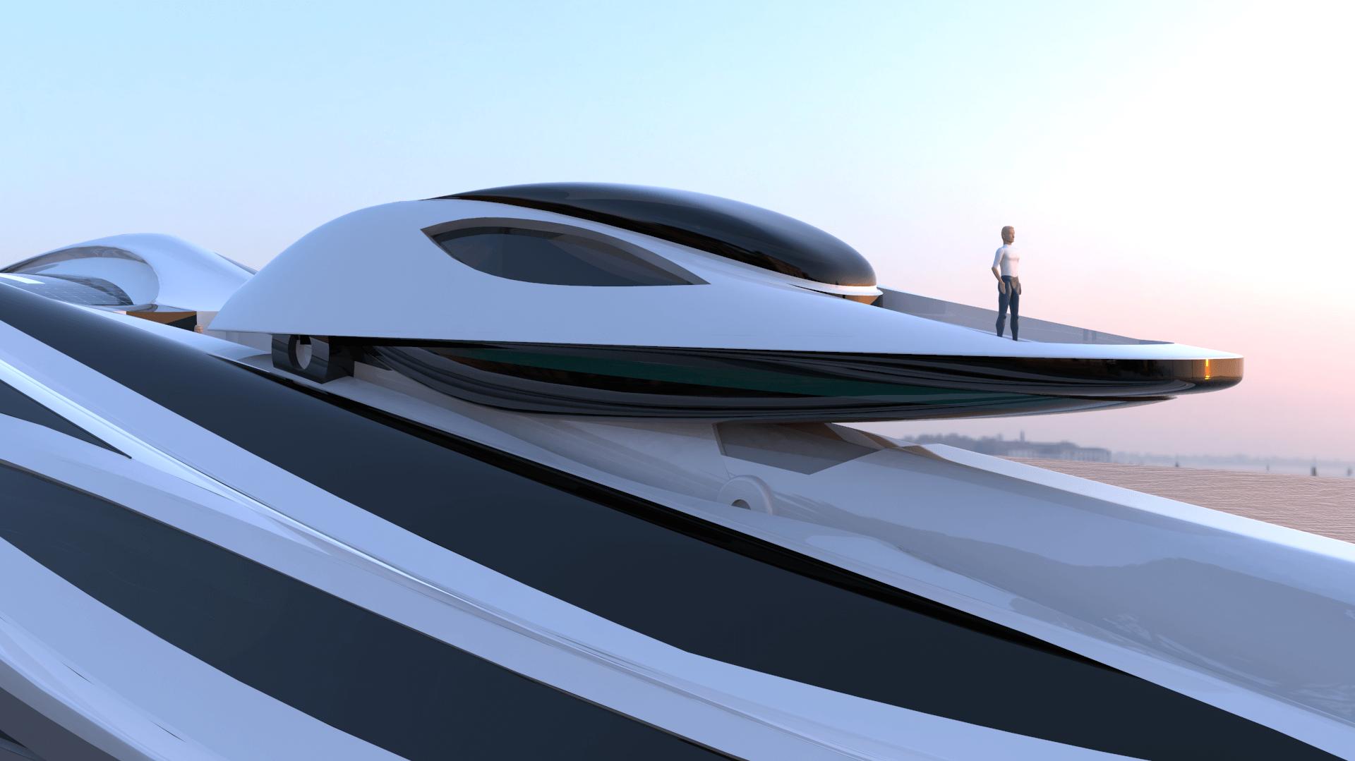 Control platform also doubles as a viewing platform. Credit: Lazzarini Design Studio