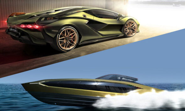 Tecnomar Lamborghini 63 Conor McGregor 12