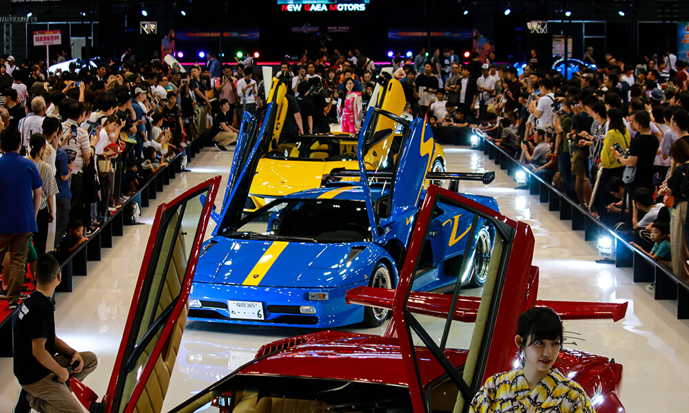 Mr Tetsumi Shinchi's 2019 Mega Supercar Motor Show in Fukuoka, Japan