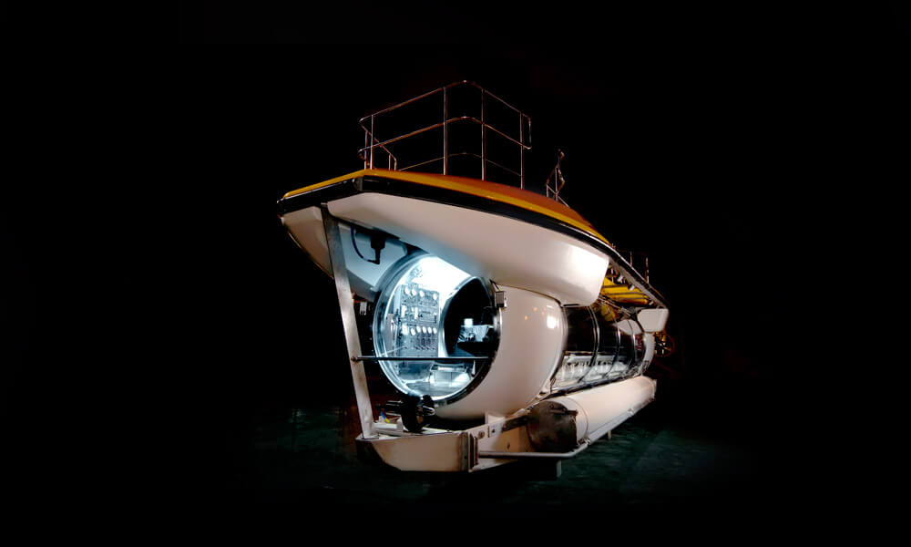 Triton DeepView 24 Submersible for tourism