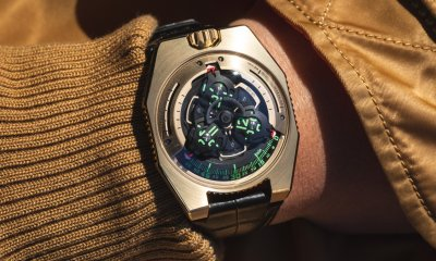 URWERK UR-100 Gold Limited Edition Watch