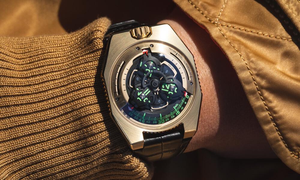 URWERK UR-100 Gold Editions Star Wars C-3PO Inspired Watch