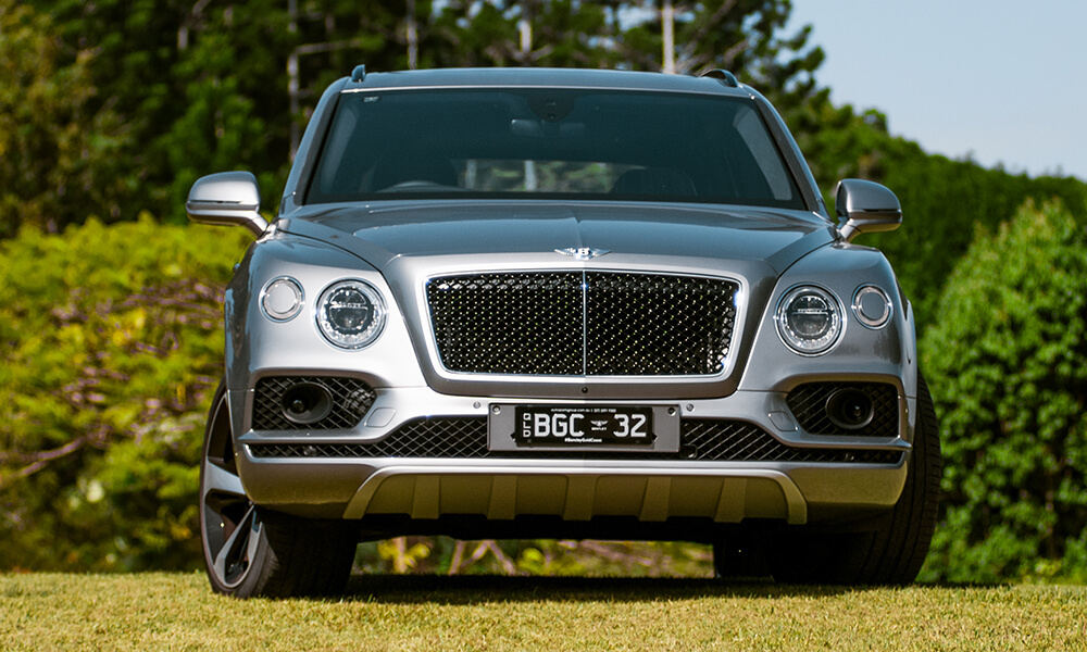 V8 Bentley Bentayga front view