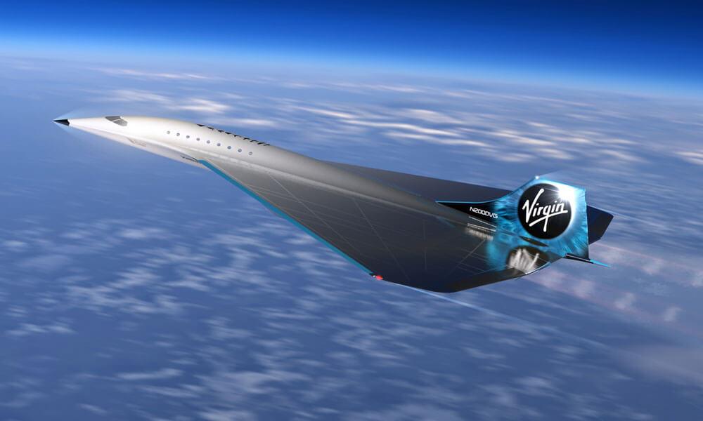 Virgin Galactic Mach 3 Super Jet Rolls Royce FAA