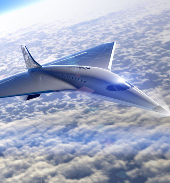 Virgin Galactic Mach 3 Supersonic Jet