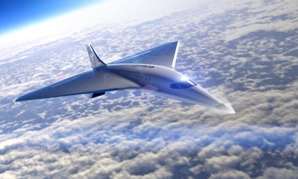 Virgin Galactic Mach 3 Supersonic Jet