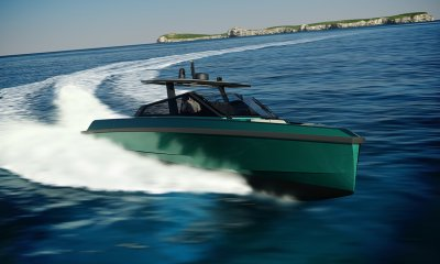 Wally 43 Tender Yacht Running Featured