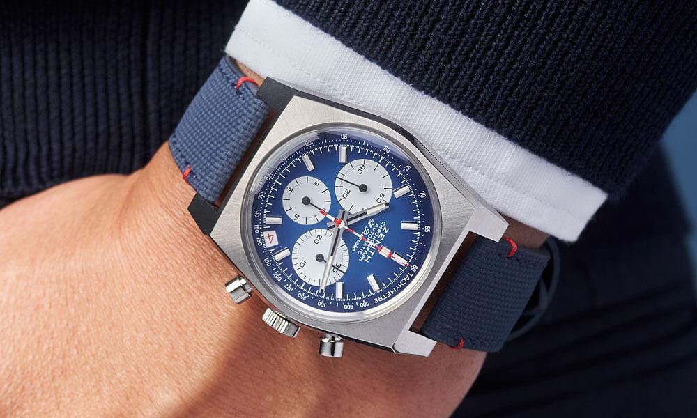 Zenith Chronomaster Revival Liberty El Primero blue dial