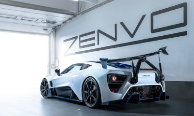 Zenvo TSR-S commissioned carbon fiber hypercar