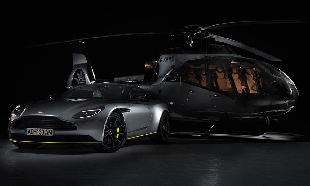 Airbus Corporate Helicopters ACH130 Aston Martin Edition Helicopter with Aston Martin