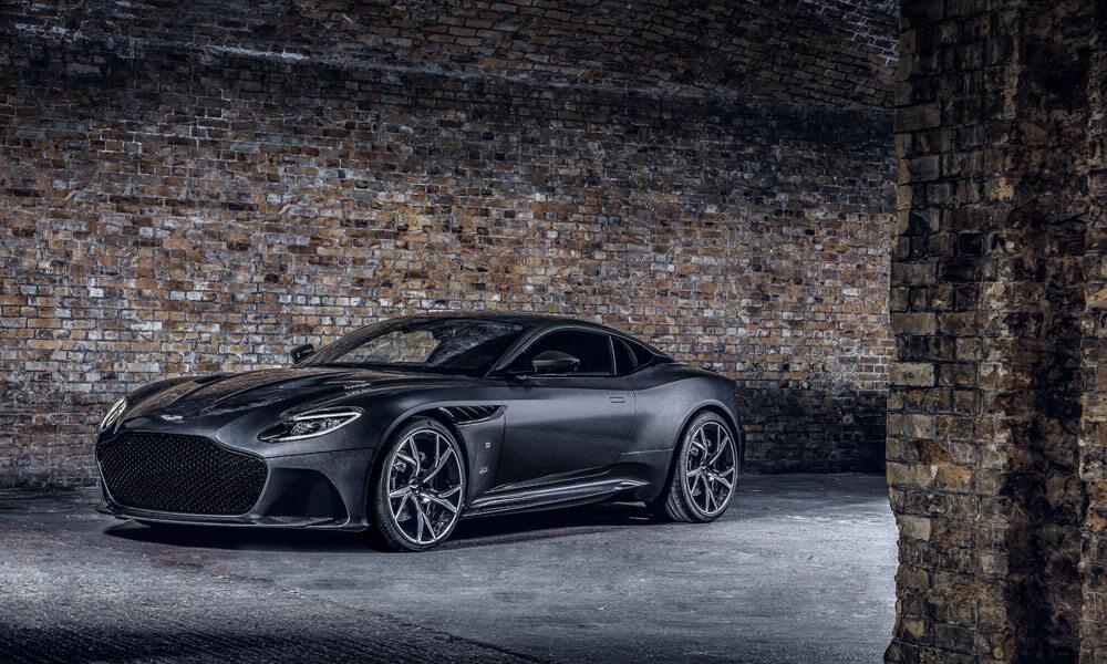 Aston Martin DBS Superleggera 007 Edition Front Side View