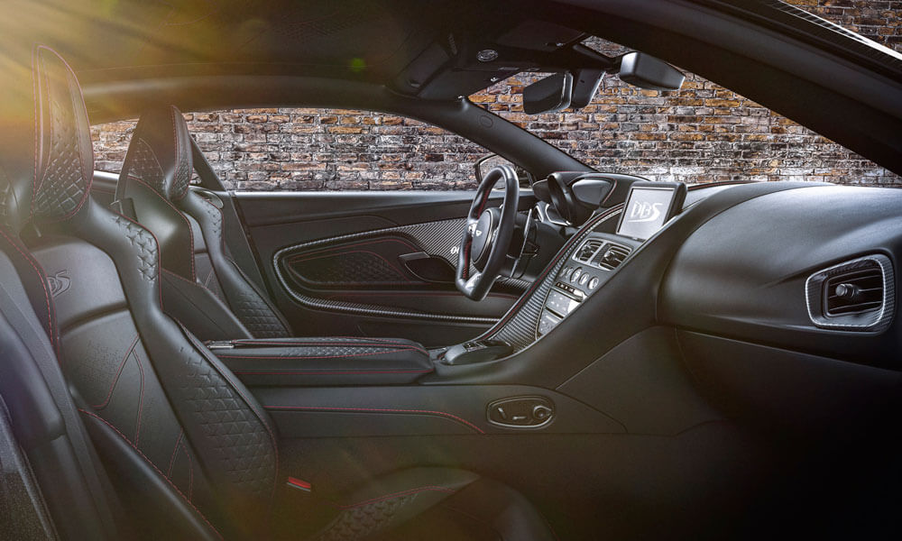 Aston Martin DBS Superleggera 007 Edition Interior Black
