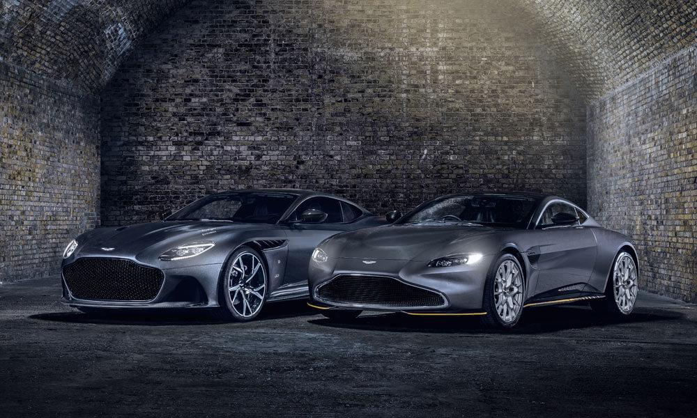 Aston Martin Vantage and DBS Superleggera 007 James Bond Edition