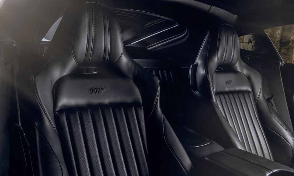 Aston Martin Vantage 007 James Bond Edition Leather Seats
