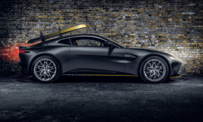 Aston Martin Vantage 007 Edition with Ski Racks Side View